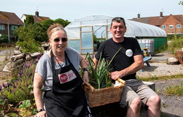 Community garden digs deep to support local people